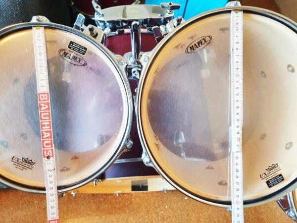 Brechen - Mapex V Series Schlagzeug Drumset + Hardware + Paiste Beckenset!