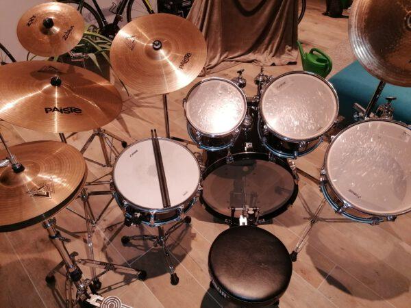 Lage - Sonor Force 3003 Schlagzeug Drumset + 5.teil Paiste/Zildjian Beckenset!